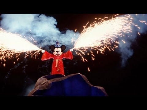 Complete Fantasmic! Show at Disneyland