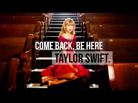❝Come Back Be Here❞ Taylor Swift- Traducida Al Español/cover/