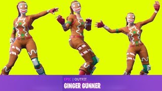 Fortnite All Dances Saison 1-7 mit Ginger Gunner Aktualisiert zu Crackdown