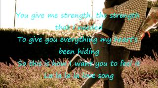 εїз La La La Love Song - Stevie Hoang ( Lyrics & DL) εїз