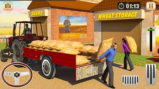 Farming Tractor Driver Simulator - Tractor Driving Games - Android GamePlay