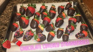 How to Make: Chocolate Covered Strawberries