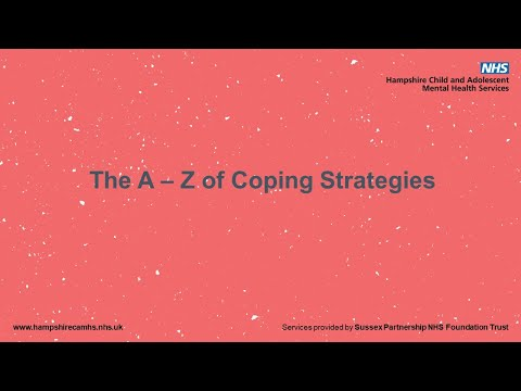 A to Z of coping strategies