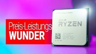 Diese CPU zerreisst ALLES!! Preis-Leistung PUR | Ryzen 3 2200G TEST