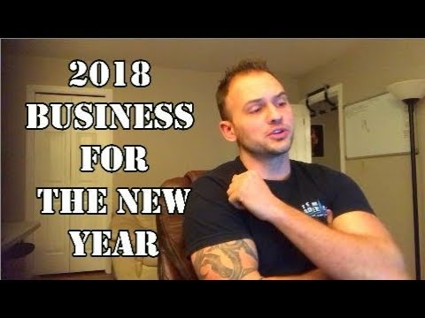 2018 Business Concept For The New Year Mechanic On Wheels
