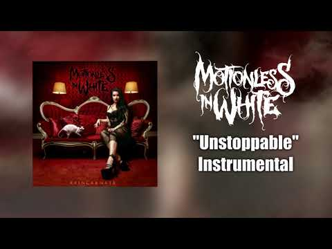 Motionless In White- Unstoppable Instrumental (Studio Quality)