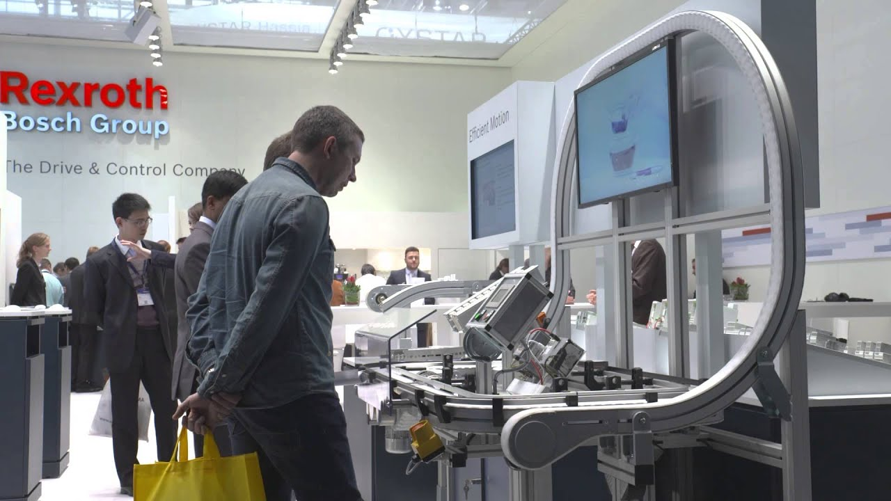 Bosch Rexroth at the interpack 2014 - YouTube