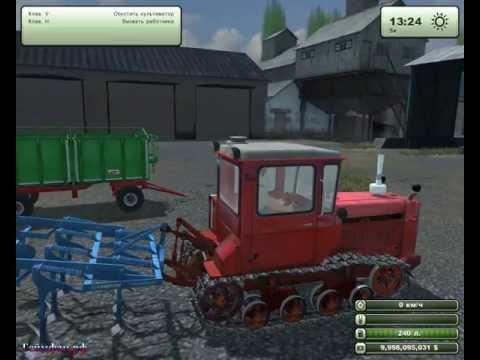 Скачать бесплатно мод гусеничного трактора Дт 75 для игры  Farming Simulator 2013 геймфан.рф