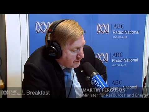 Martin Ferguson on the finalised mining tax - ABC Radio National Breakfast