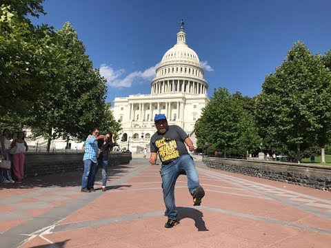 Bailando por dinero en Washington D.C - JR INN Vlog