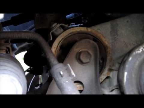 Broken Rear Engine Mount Camry V6
