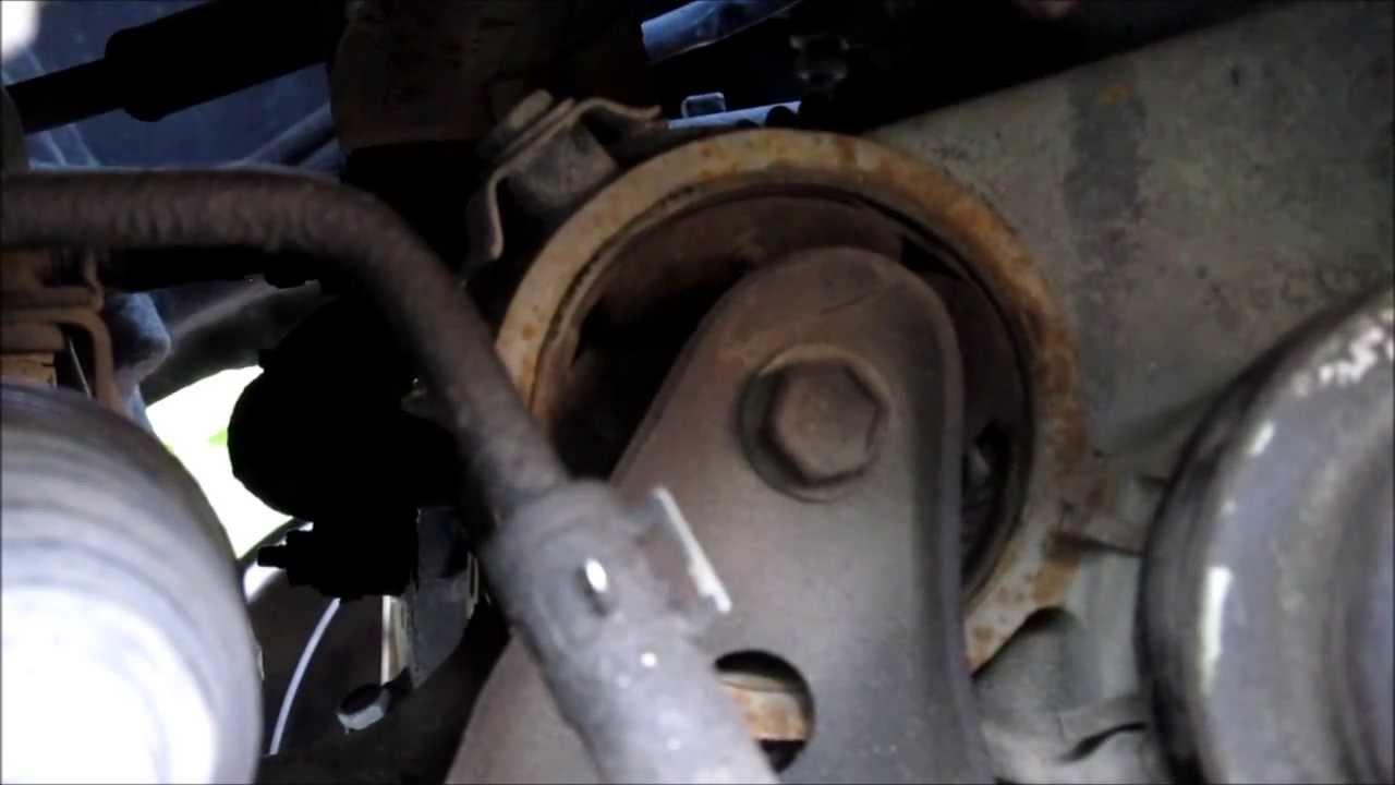 small resolution of broken rear engine mount camry v6