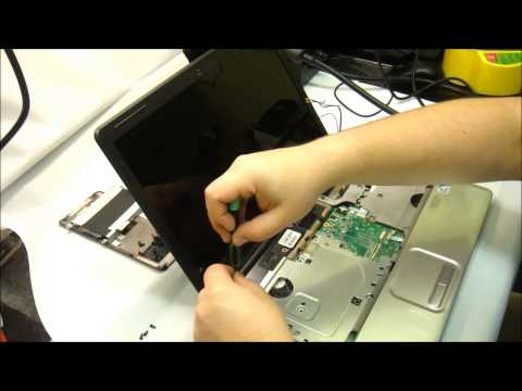 How to replace laptop hinges on a HP CQ61