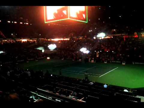 Halve finale ABN AMRO World Tennis Tournament 2012