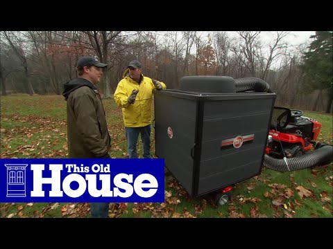 Tools to Clear Away Fall Leaves | This Old House