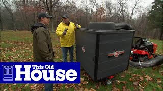 Tools to Clear Away Fall Leaves - This Old House