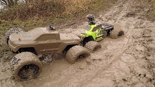 ARRMA Granite 4x4 & ARRMA Voltage Mucky Bash Edition 2018