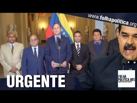 URGENTE: No exílio, TSJ reconhece Juan Guaidó como presidente da Venezuela no lugar de Maduro