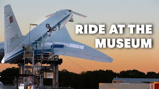 Ride at the Museum with Trials Rider Adrian Guggemos