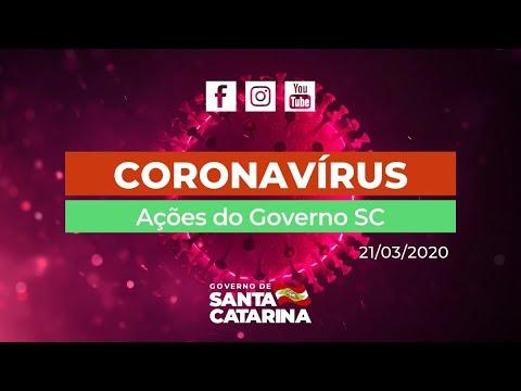 21/03 - AO VIVO Coletiva de Imprensa - Live da manhã #Coronavirus