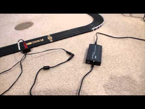 HO Slot Car Track Power Hack