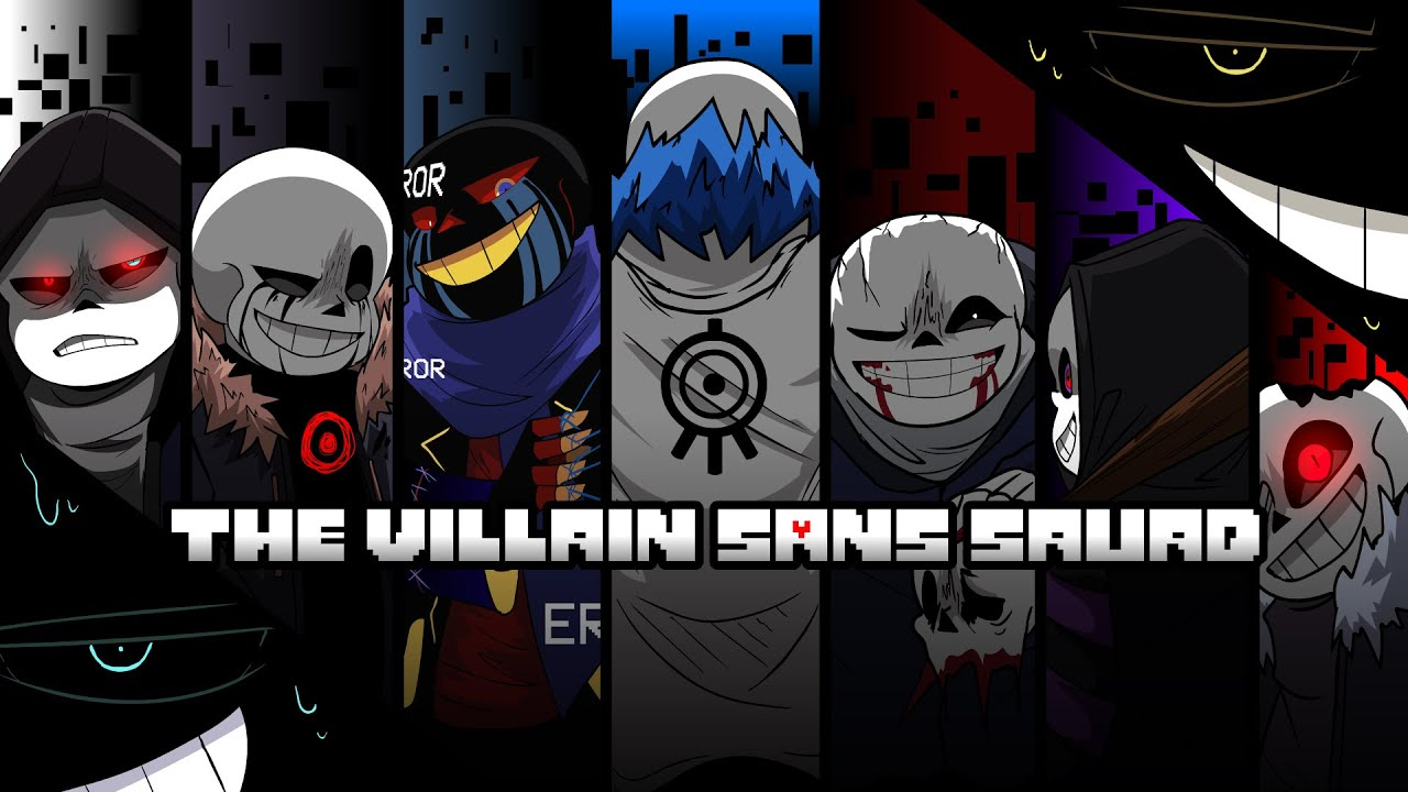 Download THE VILLAIN SANS SQUAD + HOMICIDETALE - NEO OPENING [By Yamata41]