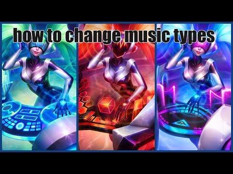 How to change DJ sonas music type