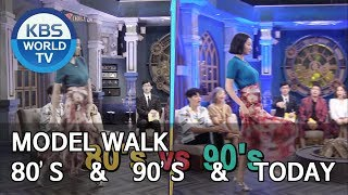 Model Walk 80's vs 90's vs Today [Happy Together/2019.7.04]