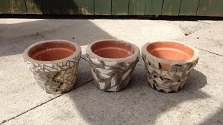 Make Inexpensive Mosaic Designs - Crafts - Guidecentral