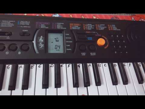 Ho Gaya Fida on Keyboard Piano -Casio​ |The Ring| |Casio Cover| Easy Tutorial/ Notes