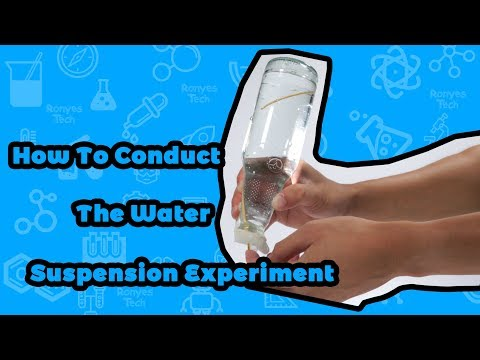 Water Suspension - Surface Tension