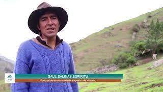 Fortalecimiento de capacidades y sostenibilidad del manejo ganadero en la comunidad de Huambo