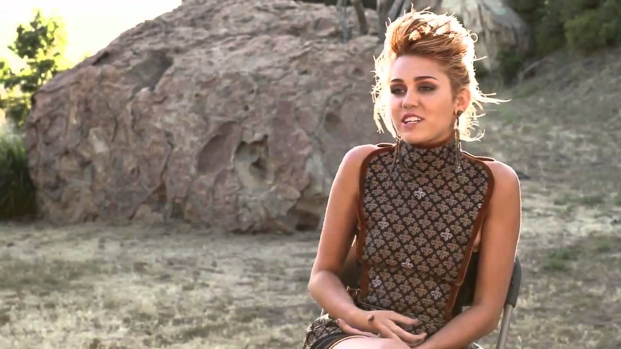miley cyrus natural born thriller hd youtube