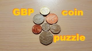 GBP Coin Puzzle. Пазл английских монет - 1 Minute Story NS(, 2016-03-17T19:00:51.000Z)