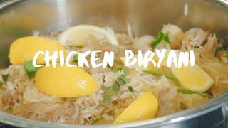 Traditional Chicken Biryani in Saladmaster  (NO OIL)
