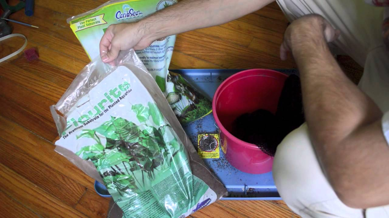 HOW TO: Make DIY Substrate Bags for aquascaping part 2 ...
