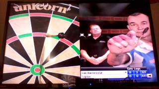 PDC World Championship Darts Pro Tour(PS3 Gameplay) - Van Barneveld v Taylor