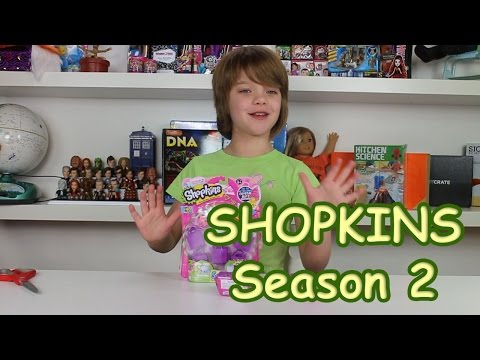 Shopkins Season 2 5pack and Blinds - Day 602 | ActOutGames