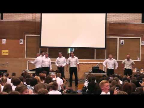 Codsall Community High School End of Term Assembly 2013 featuring Psi!!!