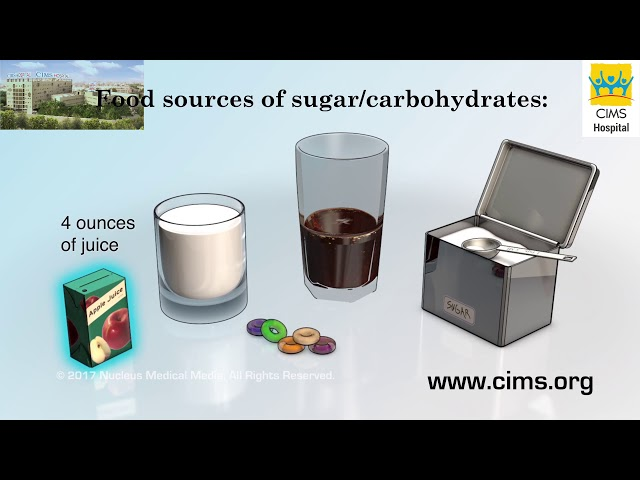 Treating Low Blood Sugar (Hindi) - CIMS Hospital