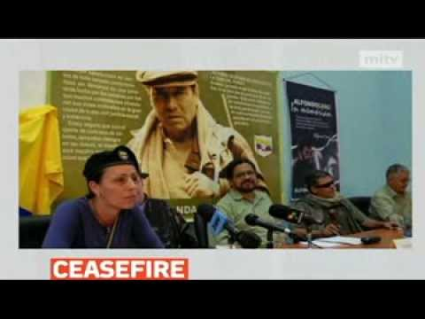 mitv - Colombia's largest rebel group, the Farc, has announced a 30-day-long ceasefire