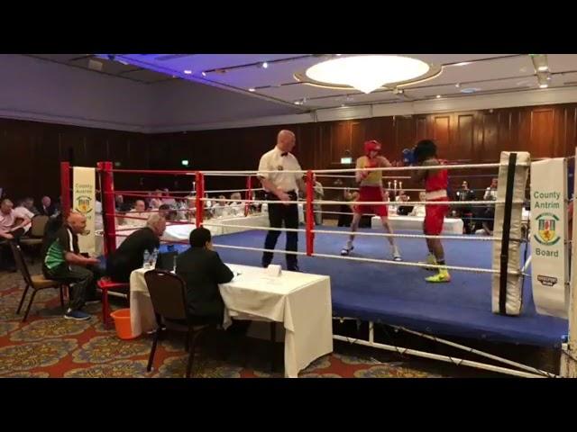 2018 County Antrim Belfast Boxing Classic - Fight 11