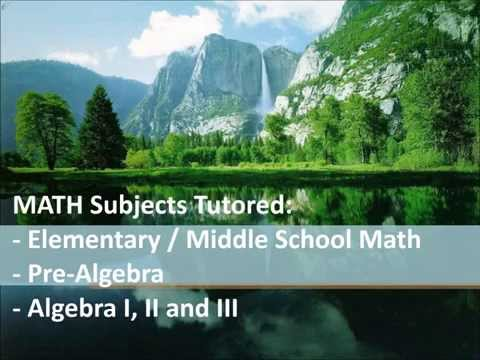 Math Tutoring Honolulu Hawaii algebra geometry services lessons classes