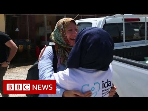 Crowdfunded hospital brings hope in Syria – BBC News