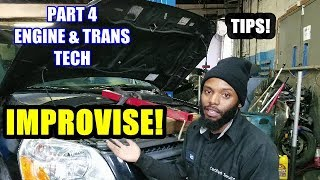 Improvising In The Shop Engine & Trans Tech Part 4