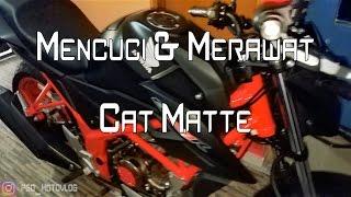 #27 MOTOVLOG | [TIPS & TRICK] Mencuci & Merawat Cat Matte (DOFF)