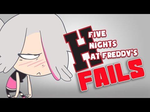 LOS FAILS DE FIVE NIGHTS AT FREDDY'S HIGH SCHOOL - Serie Animada