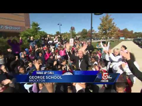 Wake Up Call from George School in Brockton