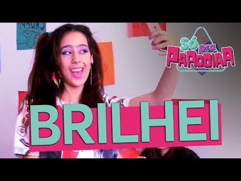 """Brilhei""  Batom Atrevido  Paródia Cheguei – Ludmilla  Só Pra r  Música Multishow"