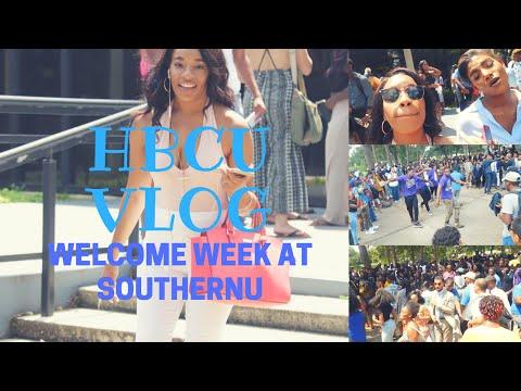 HBCU College Vlog| Welcome Week At Southern U| Sea 1. Episode 4.